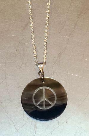 SILVER PEACE NECKLACE for Sale in Phoenix, AZ
