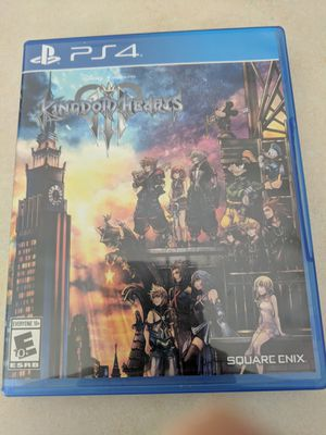 Kingdom Hearts 3 PS4 - $20 for Sale in Lakeland, FL