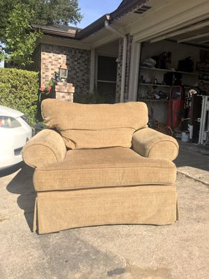 Matching Sofa Chair and Ottoman for Sale in Arlington, TX
