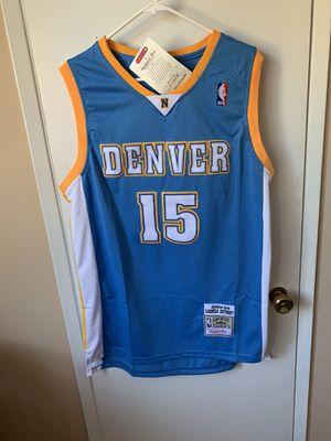 Carmelo Anthony #15 blue Denver nuggets jersey for Sale in San Fernando, CA