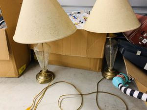 $5 lamp set for Sale in Raleigh, NC