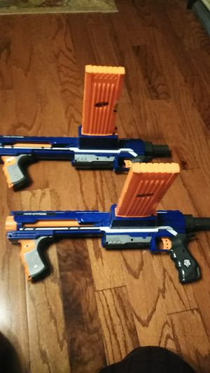 Nerf N-Strike 2 Rampage Guns With 18 round Clips! for Sale in Newportville, PA