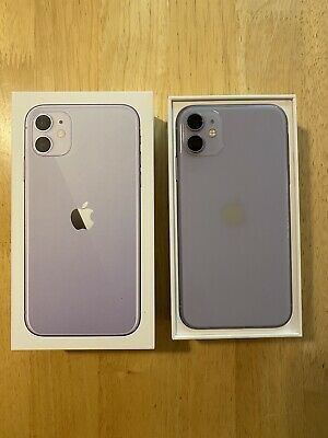 Apple iPhone 11 - 128GB - Purple (Unlocked) A2111 (CDMA + GSM) for Sale in Washington, DC