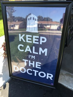 Doctor poster for Sale in Elk Grove Village, IL