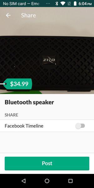 Bluetooth speaker for Sale in Lubbock, TX