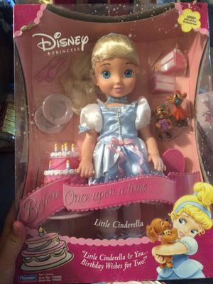 Disney little birthday Cinderella for Sale in New Holland, PA
