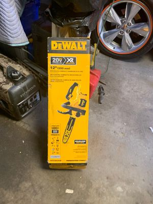 Dewalt chainsaw 20 volts bruslessnew for Sale in Cicero, IL