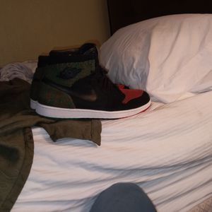 "Jordan 1 Retro Flynit BHM "" Black History Month Edition Size 12 for Sale in Kennesaw, GA"