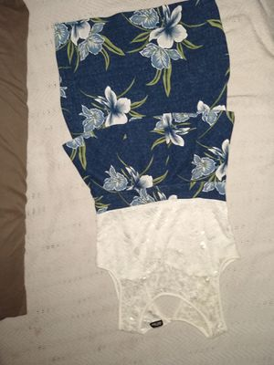 White and blue flower dress for Sale in Los Angeles, CA