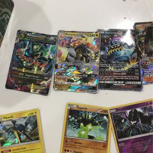 Pokemon Cards GX's and reverse Hollows And Regular Hollows for Sale in Fort Lauderdale, FL