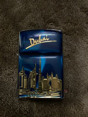 Unique Dubai zippo style lighter, Hotrodding collectible zippo style lighter, and elegant stainless steel zippo lighter for Sale in Worcester, MA