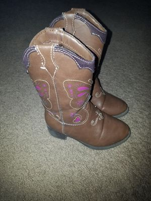 Girls size 7 Cowgirl Boots for Sale in Damascus, MD