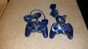 Two ps2 controllers for Sale in El Cajon, CA