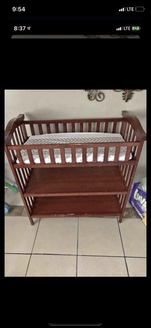 Baby stuff (diaper changing table, diaper genie, bottle warmer & walker) for Sale in DeSoto, TX