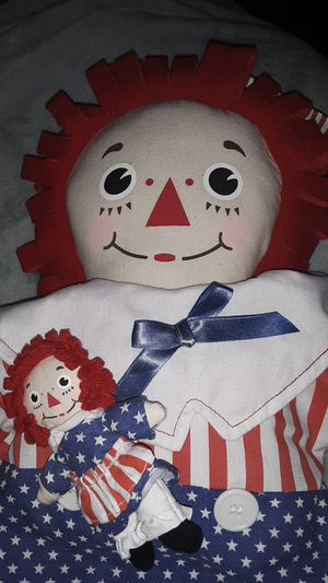 Raggedy Andy stars an stripes addition for Sale in El Reno, OK