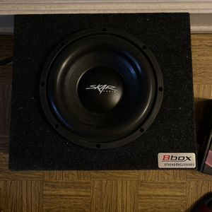 """10"""" Subwoofer With Bbox for Sale in Philadelphia, PA"""