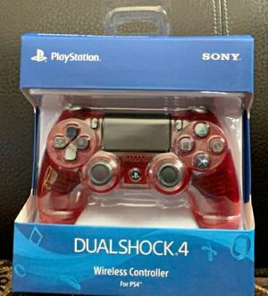 Crystal red wireless gaming controller *brand new* for Sale in Dearborn, MI