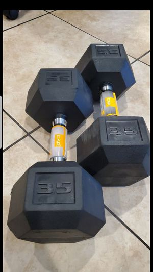 35lb dumbbell for Sale in Los Angeles, CA