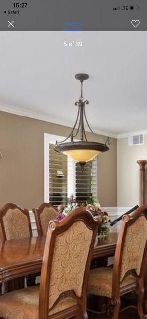 Chandelier light fixture for Sale in Riverside, CA