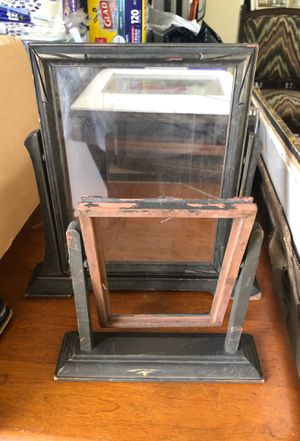 Antique woodenpicture frame swivels for Sale in Dublin, OH