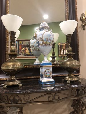 Bronze and brass lamps. for Sale in Miami, FL