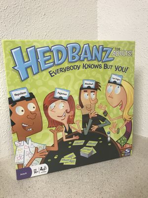 New* Hedbanz For Adults Board Game for Sale in Austin, TX