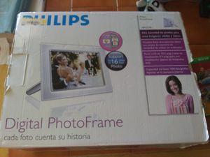 Phillips digital photo frame for Sale in Hallsville, TX