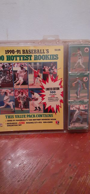 8 ,pack 1989 baseball cards {contact info removed} for Sale in Oxon Hill, MD