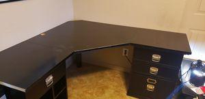 Black Corner Desk for Sale in Goodyear, AZ