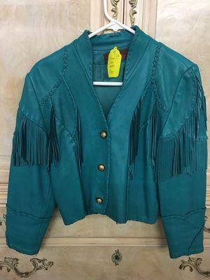 Gossamer Wings Fringe Leather Jacket for Sale in Lincoln Park, MI