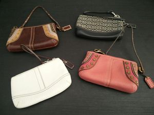 Coach Zipper Wallets - includes 4 for Sale in Rancho Cucamonga, CA