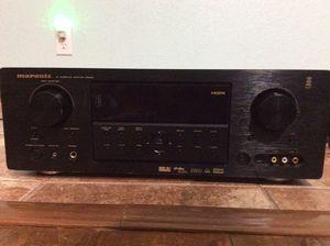 Marantz SR5002 A/V Surround Sound Receiver + Marantz SACD/DVD player DV8300 for Sale in Buda, TX