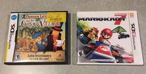 Nintendo DS 3DS games for Sale in Battle Ground, WA
