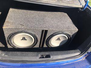 "JL audio speaker 12"" for Sale in Winton, CA"