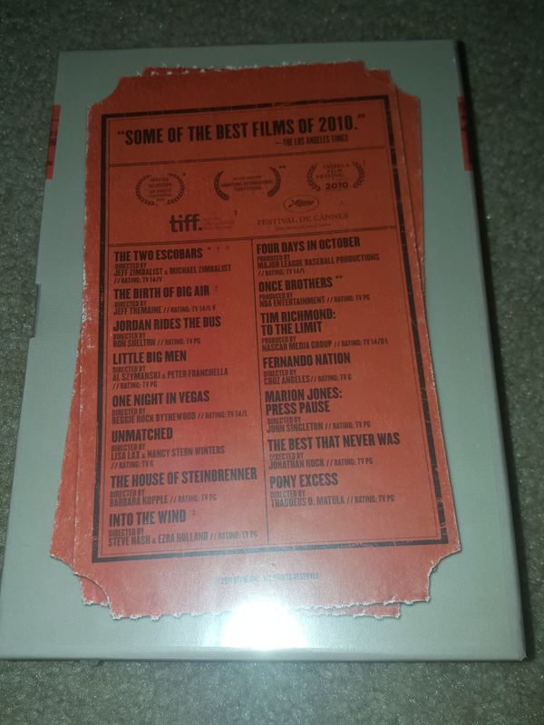 30 For 30 documentaries (DVD Brand New/Sealed)