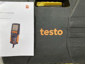 Testo 310 flue gas analyzer for Sale in Olympia, WA