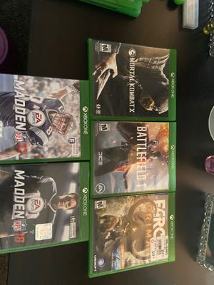 X Box one games for Sale in Surprise, AZ