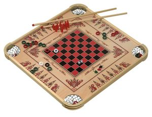 100 Games in One Wooden Board Game in Amazing Condition for sale due to moving for Sale in Tampa, FL