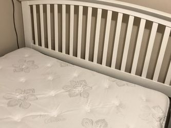 White Bed Frame & Bed for Sale in West Jordan,  UT