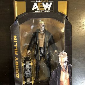 NEW AEW UNRIVALED DARBY ALLIN JAZWARES SERIES 3 ACTION FIGURE #22 for Sale in Runnemede, NJ