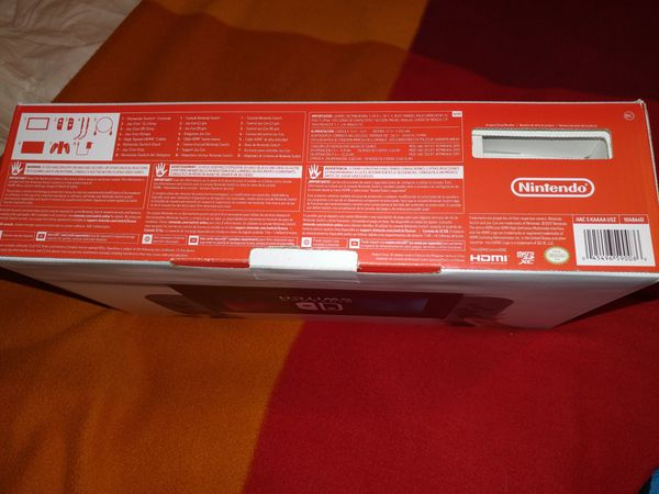 Nintendo Switch with Controller, Case and SD Card