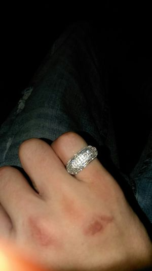 Siliver diamond ring for Sale in Columbus, OH