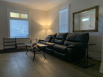 Leather Aviator Sofa, electric recliners (all 3) couch for Sale in Salt Lake City,  UT