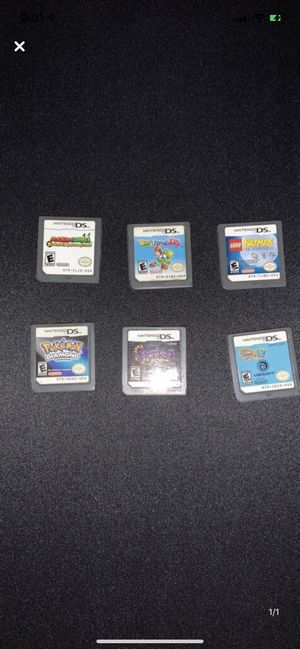 Nintendo DS Games (AMAZON GIFT CARD PAYMENT ONLY) for Sale in Mount Holly, NJ