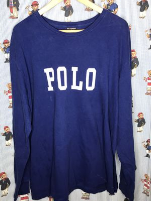 Vintage polo sport long sleeve shirt for Sale in Chula Vista, CA
