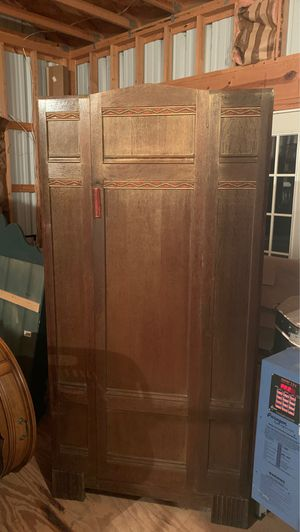 A. Gardner & Son Antique Wardrobe from Scotland. for Sale in Coffee City, TX