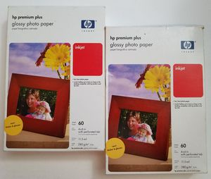 hp premium plus glossy photo paper NEW for Sale in Lincoln, NE