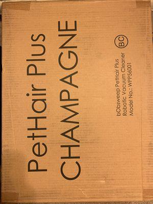 bObsweep Pethair Plus Robotic Vacuum Champagne for Sale in Arlington, VA
