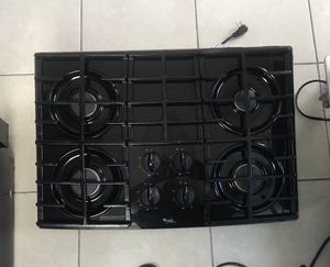 "Gas Cooktop Whirlpool Like New 30"" x21"" for Sale in Miami, FL"