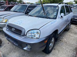 2001 Hyundai Santa fe for parts! for Sale in Houston, TX
